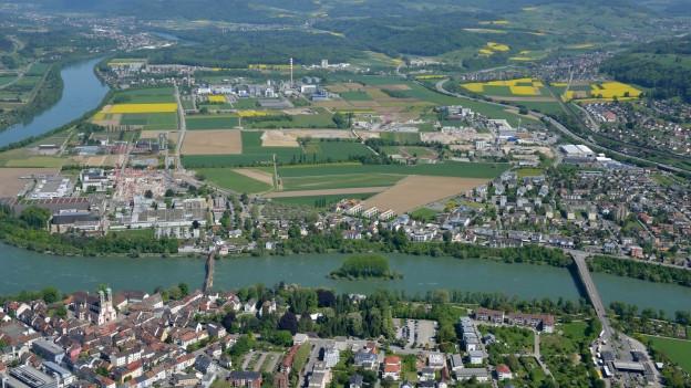 Sisslerfeld Luftaufnahme