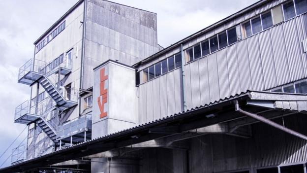 Die alte Futterfabrik in der Telli in Aarau, Heim des KiFF