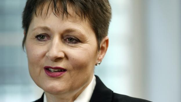Regierungsrätin Franziska Roth wird stark kritisiert.