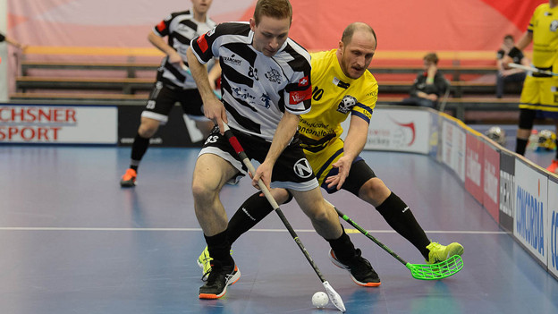 Unihockey: Nuglar in Aktion