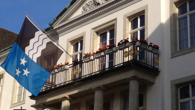 Das Regierungsgebäude in Aarau