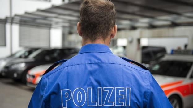 Polizist in Uniform