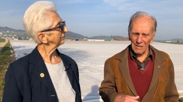 Gabriele Weibel und Walter Zehnder erinnern sich an die Katastrophe.