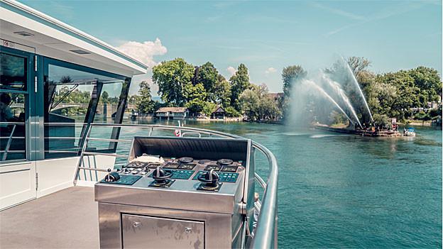 Personenschifffahrt auf dem Rhein Ja, aber ohne Halt in Rheinfelden.