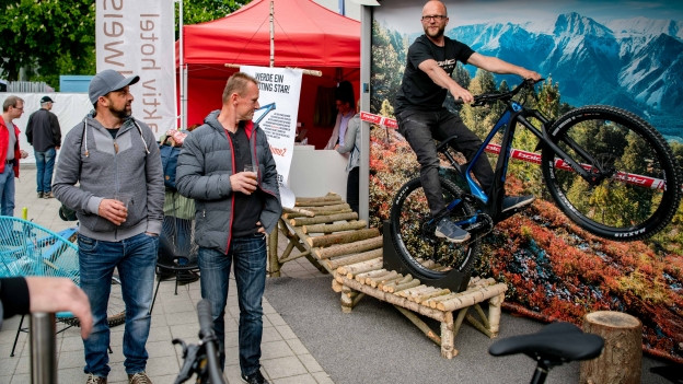 An den Bike Days Solothurn gibt es Velos für jeden erdenklichen Zweck.