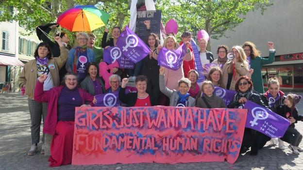 Findet der Aargauer Frauenstreik nur nach Feierabend statt?