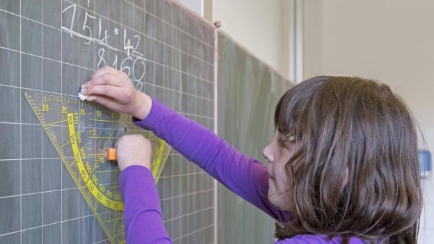 Vor allem in der Mathematik haben sich bei Solothurner Schülerinnen und Schülern Defizite offenbart.