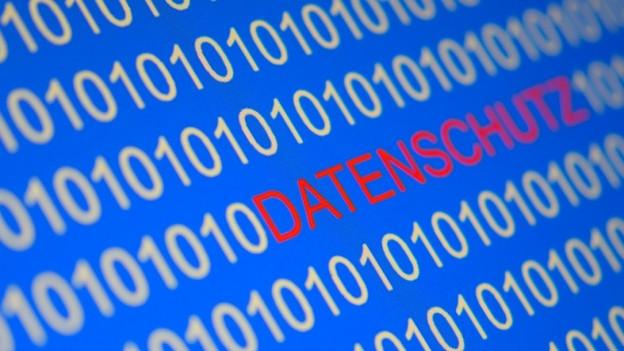 Ein Symbolbild zum Datenschutz.