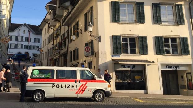 Die Stadt Solothurn hat eine eigene Polizei. Wie viel der Kanton dafür abgelten soll, ist aber umstritten.