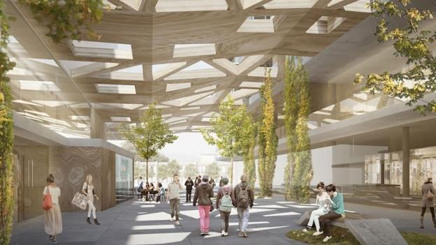 Der Sälipark in Olten soll grösser und moderner werden.