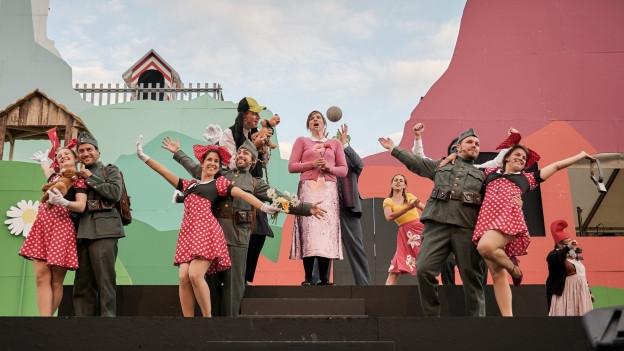 Stück «Grüezi» lockte weniger Zuschauer an als geplant.
