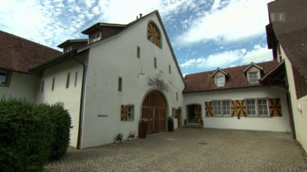 Das Schloss Böttstein schliesst die Tore.