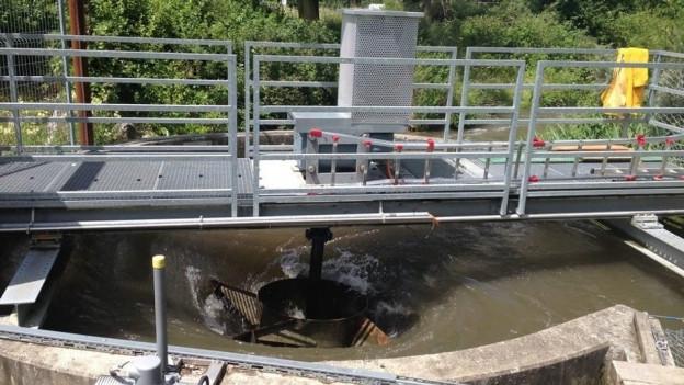 Umstrittenes Wasserwirbelkraftwerk an der Suhre verschwindet