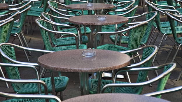Leere Tische statt viel zu tun: Auf dem Grenchenberg fehlen die Gäste.