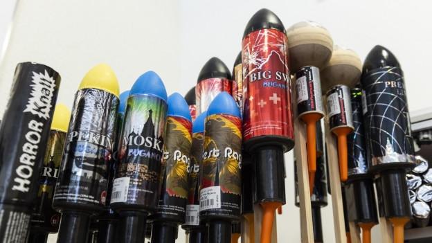 Am 1. August dürfen im Aargau Raketen in den Himmel steigen