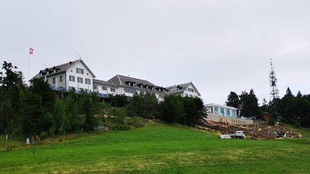 Frisch renoviertes Hotel Weissenstein