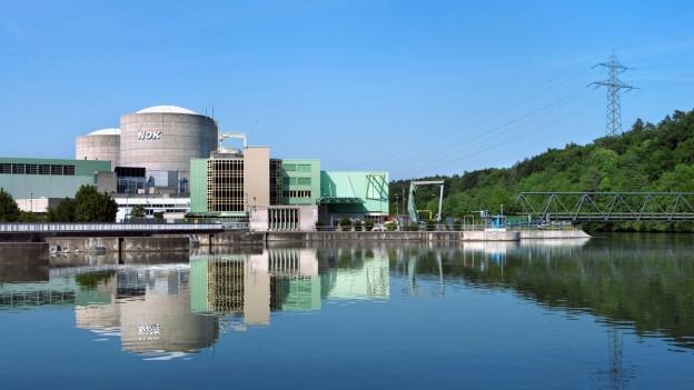 Kernkraftwerk Beznau: 25-Grad-Marke immer eingehalten