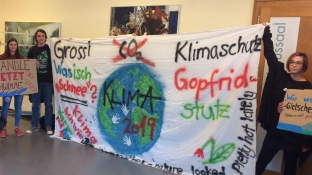 Wettinger Jugend und Parlament wollen etwas gegen Klimawandel unternehmen