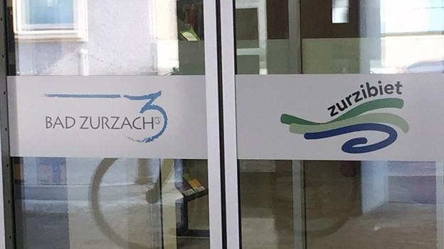 Der Eingang zur Gemeindeverwaltung Bad Zurzach
