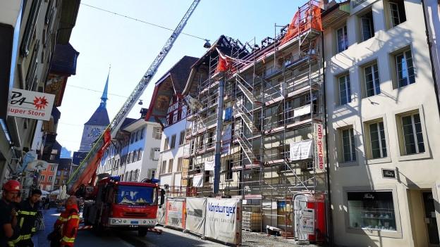 Brand in Aarau