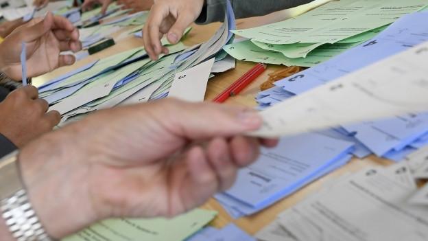 In Städten wird am Wahltag eine hohe Wahlbeteiligung erwartet, auch in Aargauer Städten. Warum?