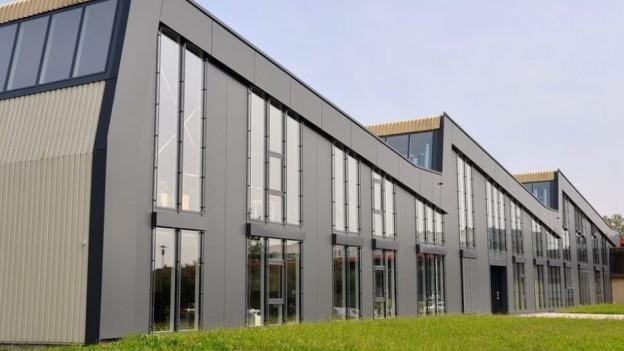 Das Gebäude der Firma Rohrer AG in Möhlin.