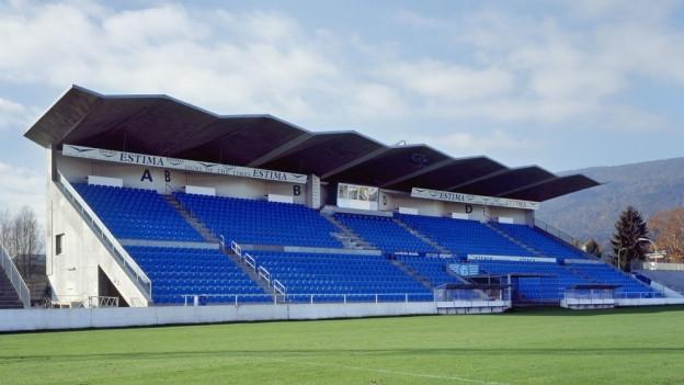 Das Stadion Brühl in Grenchen.