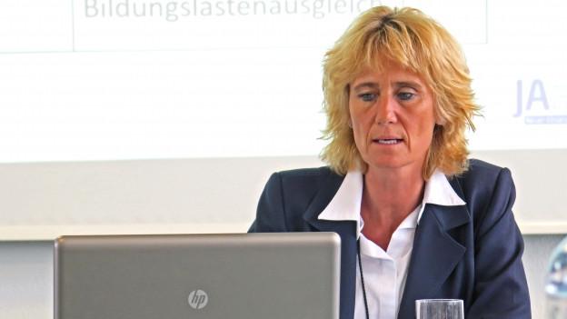 Neuenhofs Frau Gemeindeammann Susanne Voser