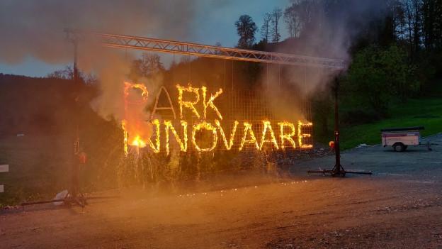 Spatenstich für die Erweiterung des Parkes Innovaare in Villigen.