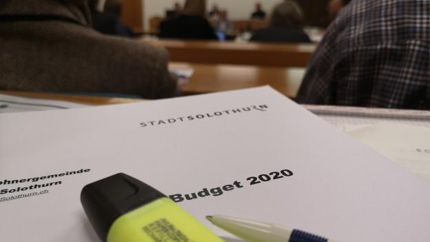Obwohl die Stadt für 2020 mit einem Minus rechnet, sollen die Steuern in Solothurn sinken.
