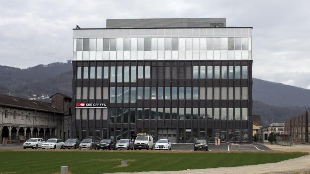 Die Betriebszentrale Mitte in Olten: Dafür muss die SBB nun Gebühren für den Anschluss an die Kanalisation zahlen.