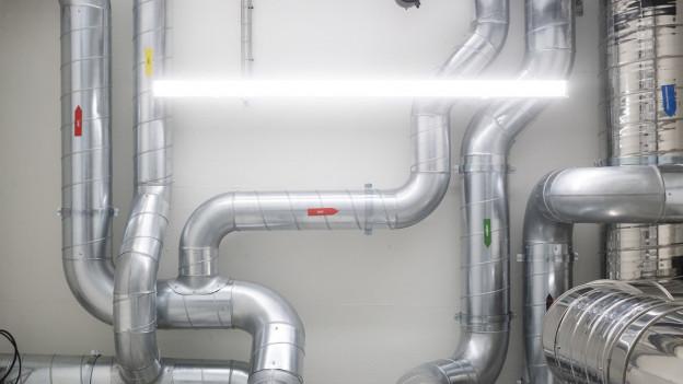 Rohre einer Wasserversorgung