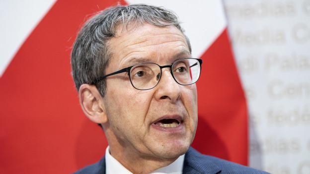 Regierungsrat Urs Hofmann tritt nicht mehr an bei den Gesamterneuerungswahlen.