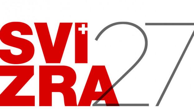 Das Logo der Landesausstellung Svizra 27