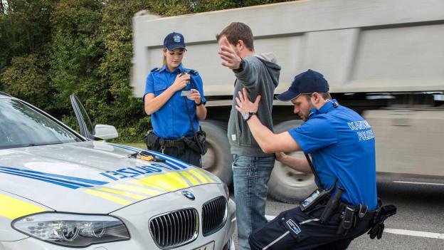 Die Polizei soll Verbrechen verhindern können