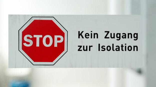 Der Aargau isoliert kranke Asylbewerber in Frick