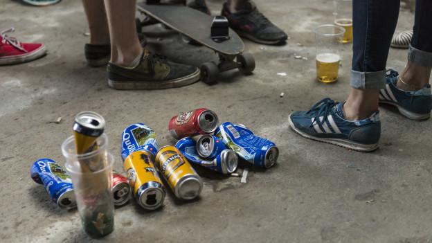 Alkoholverbot soll Randständige in Grenchen daran hindern, sich zu treffen