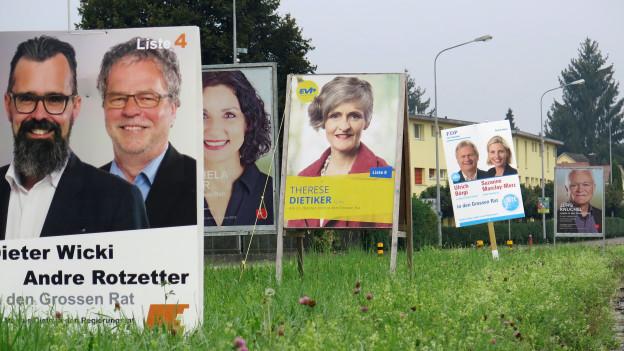 Aargauer Wahlkampf wird wegen der Pandemie komplizierter und anstrengender.