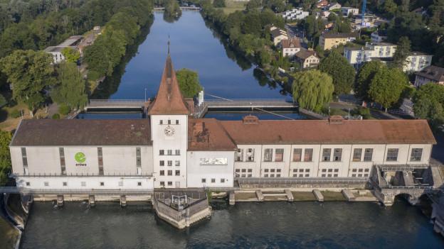 Das Kraftwerk Aarau der Eniwa