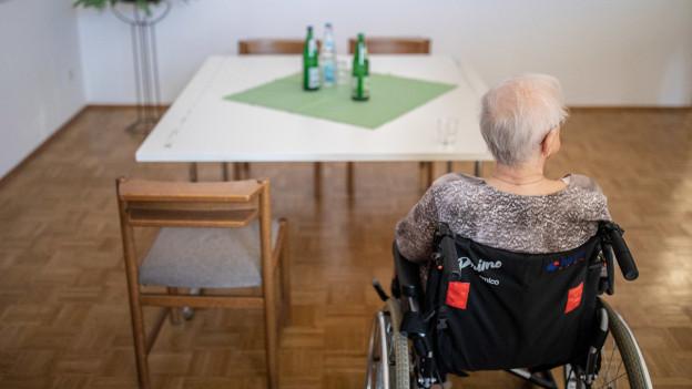 Sechs Infizierte in einem Pflegeheim