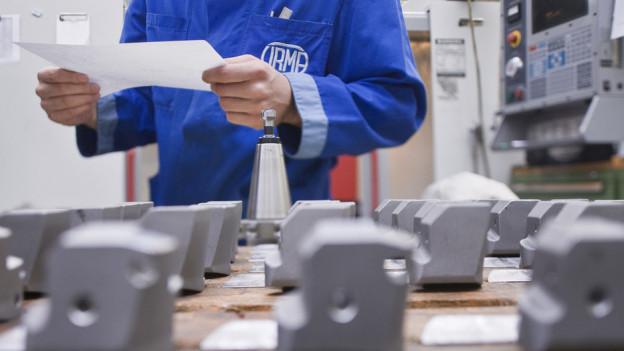 Ein Kleinbetrieb der mechanischen Branche