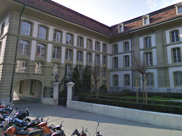 Die Berner Zentralbibliothek wird renoviert.