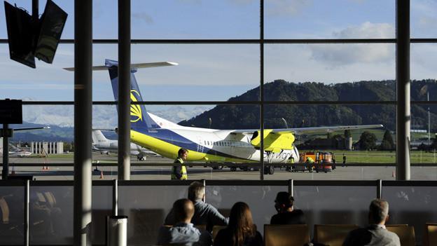 Der Flughafen Bern-Belp hat möglicherweise bald neue Besitzer.