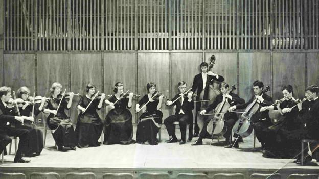 Die Camerata Bern: Archivaufnahme von 1963.
