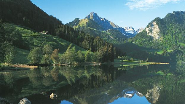 Intakte Landschaften wie die am Schwarzsee sollen dank koordinierter Raumentwicklung erhalten bleiben.