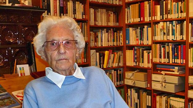Marthe Gosteli setzt sich auch mit 95 Jahren noch für die Rechte der Frau ein.