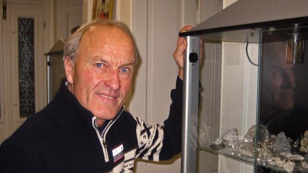 Der Walliser Bergführer Kilian Volken fünf Monate nach seinem schweren Unfall.