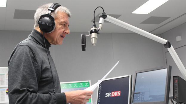 Toni Koller sprach 30 Jahre lang in die Mikrofone von Radio DRS und SRF.