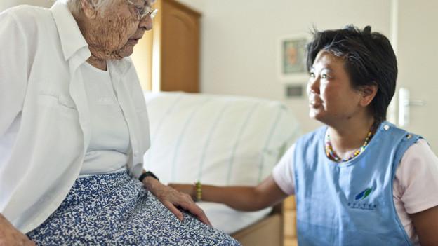 In der spitalexternen Betreuung gibt es private und öffentliche Anbieter.