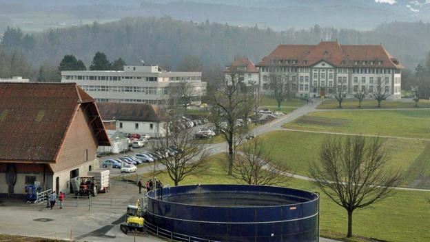 Das landwirtschaftliche Institut Grangeneuve Freiburg
